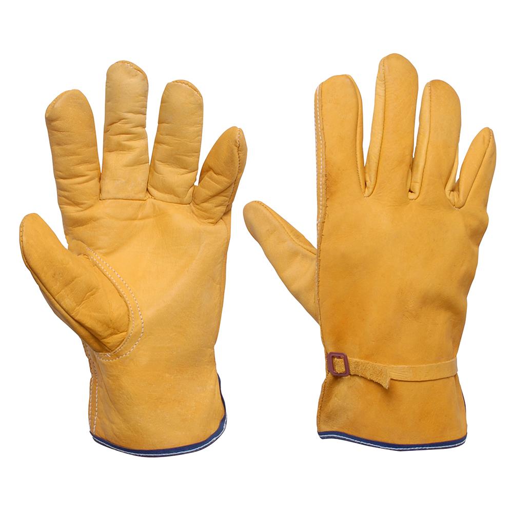 guantes cortos tipo argonero piel de res urrea