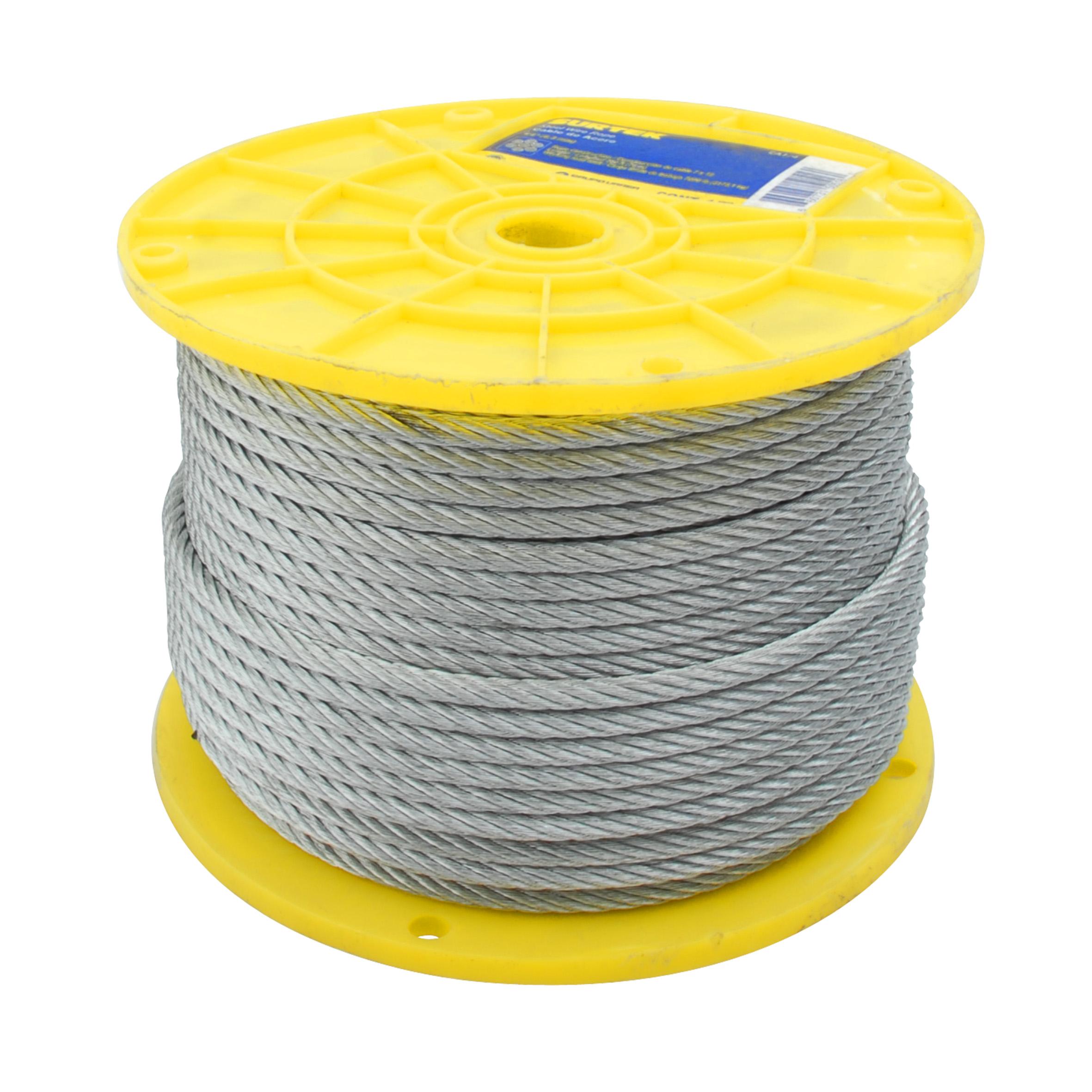 Cable de acero 1 16 x 152m urrea for Cable de acero precio