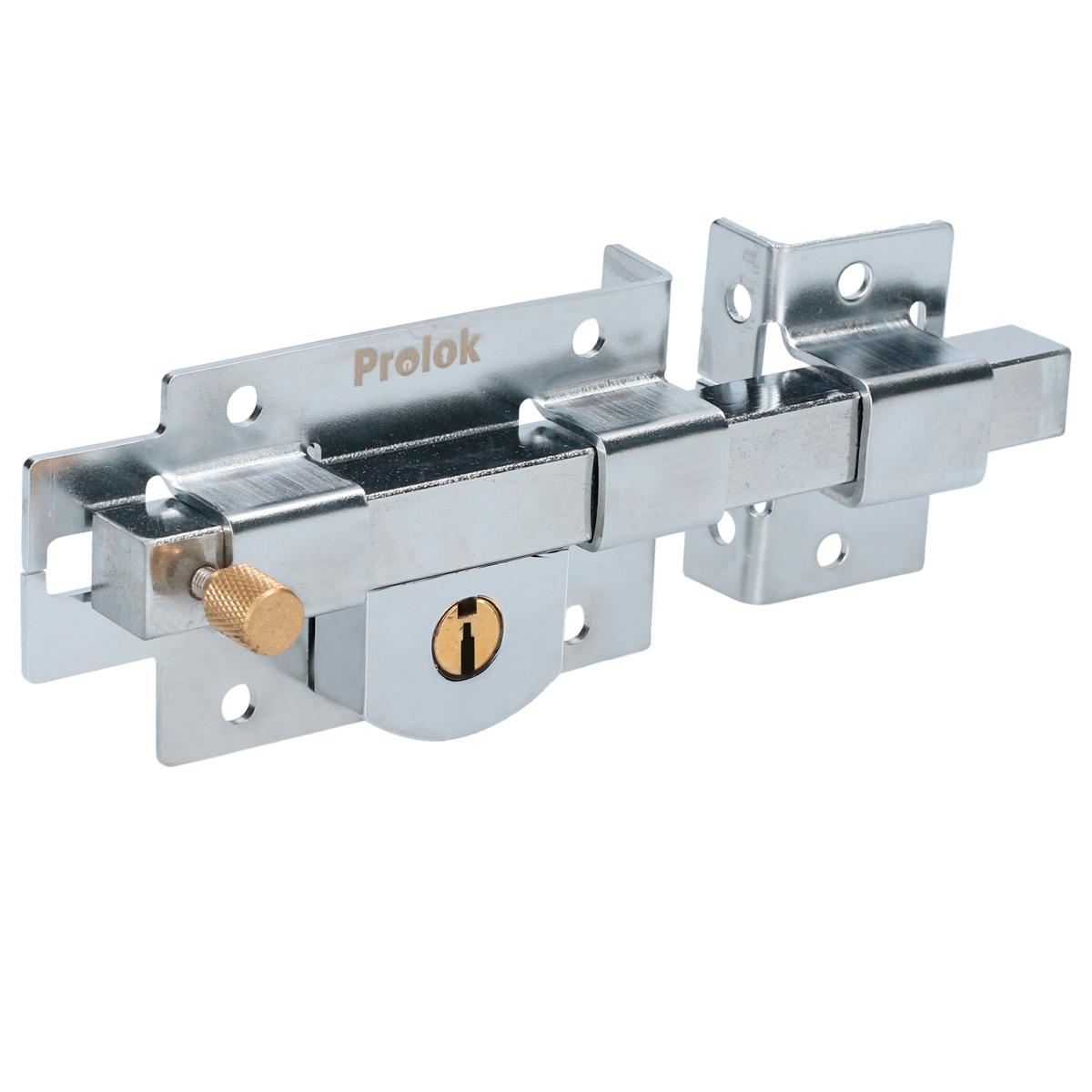 Imagen para Cerradura de barra fija derecha llave estándar en caja de Grupo Urrea