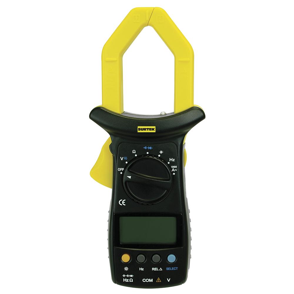 Imagen para Multímetro digital de gancho uso general 1000A / 600V de Grupo Urrea