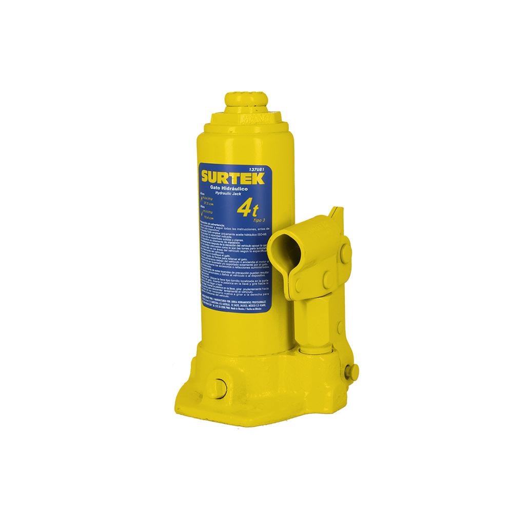 Imagen para Gato hidráulico de botella 4 ton de Grupo Urrea