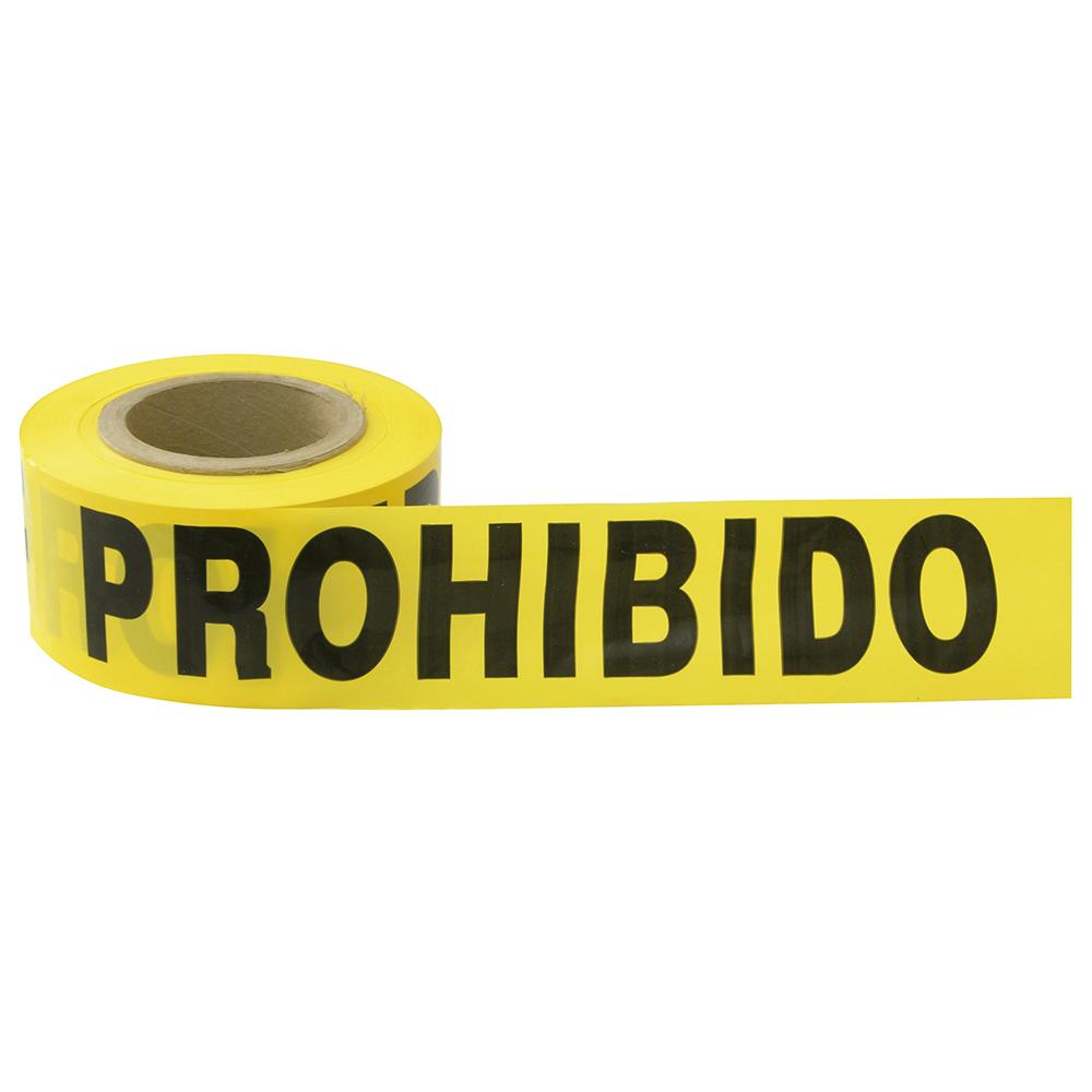 """Imagen para Cinta barricada """"Prohibido el paso"""" 100 mt de Grupo Urrea"""