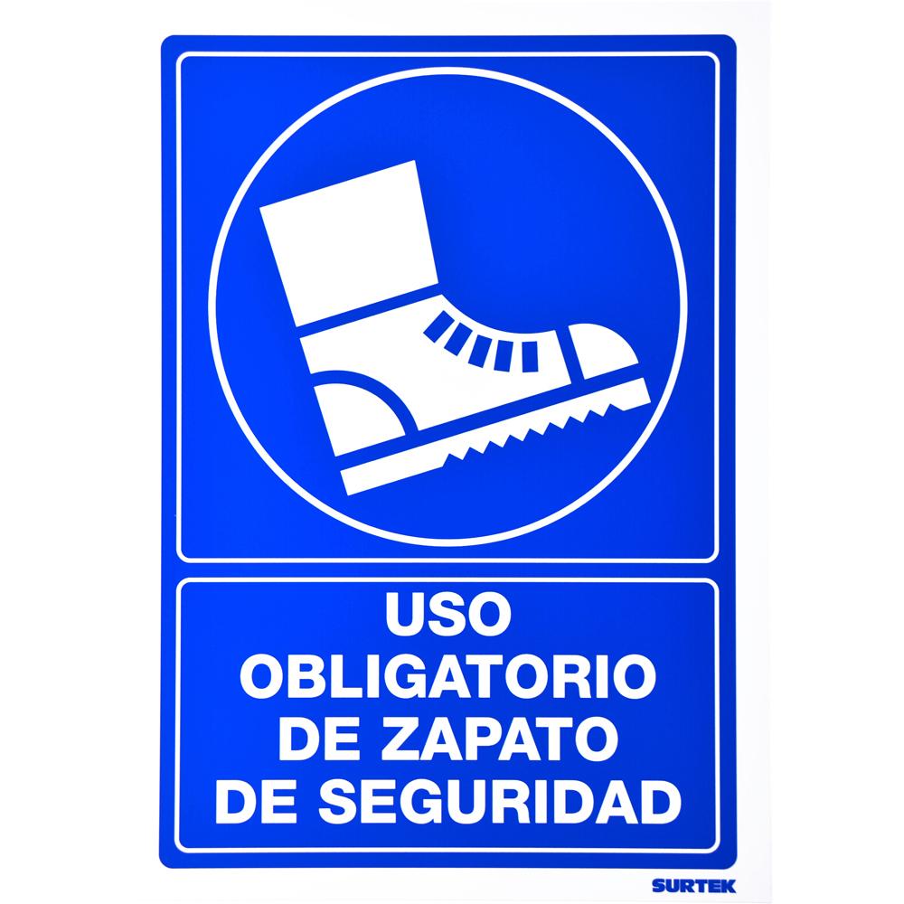 """Imagen para Señal """"Zapatos de seguridad"""" de Grupo Urrea"""