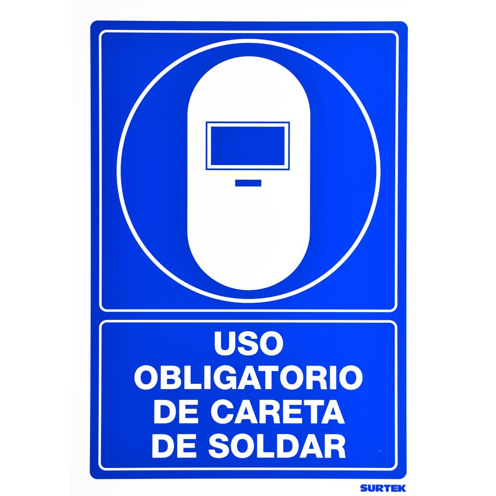 "Imagen para Señal ""Careta de soldar"" de Grupo Urrea"