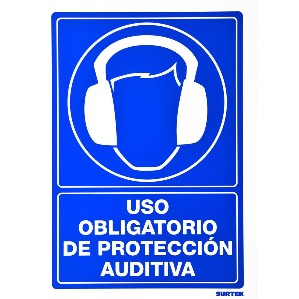 """Imagen para Señal """"Protección auditiva"""" de Grupo Urrea"""