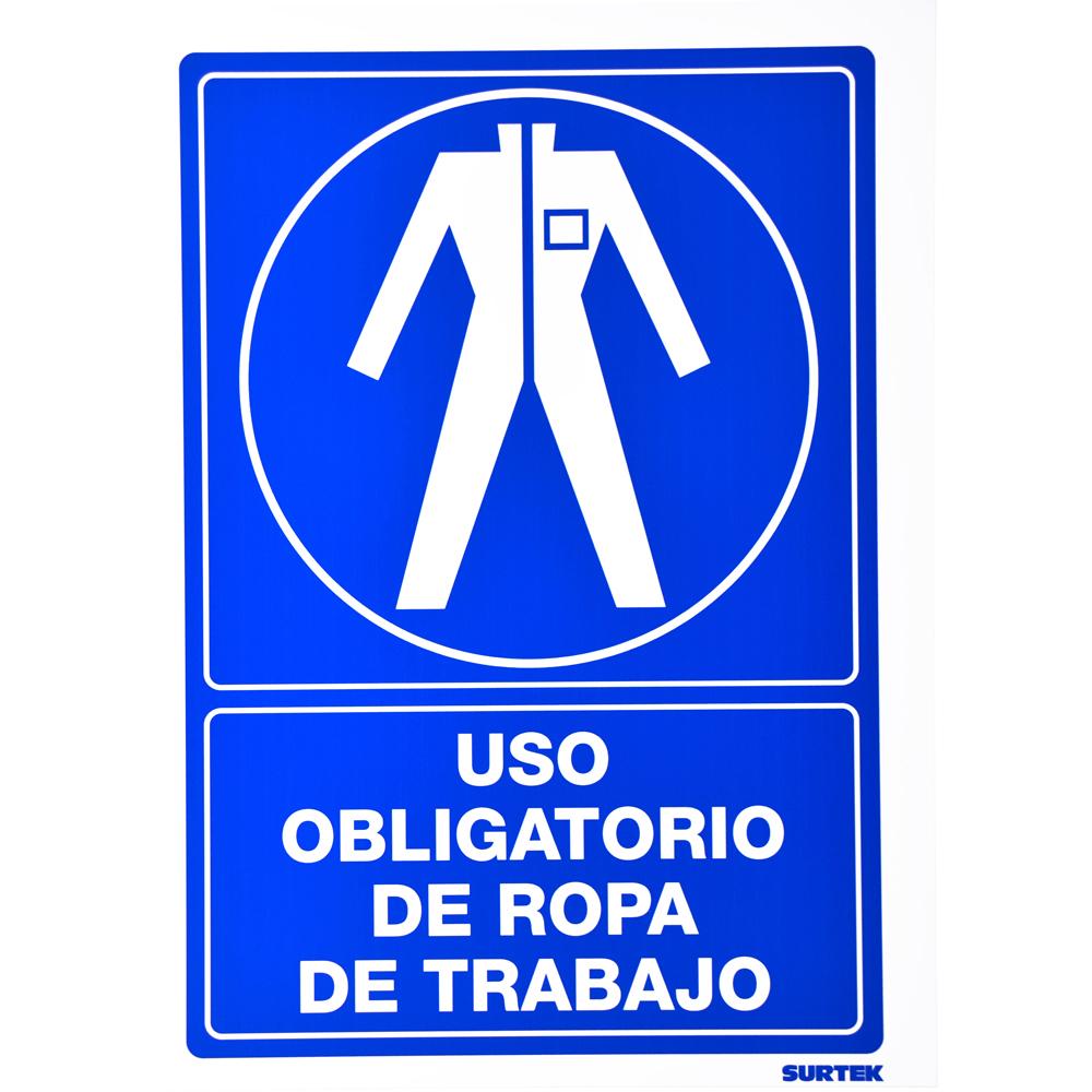 """Imagen para Señal """"Ropa de trabajo"""" de Grupo Urrea"""