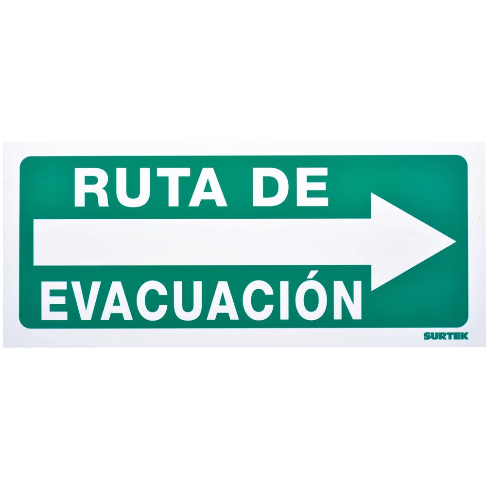 """Imagen para Señal """"Ruta de evacuación"""" derecha de Grupo Urrea"""