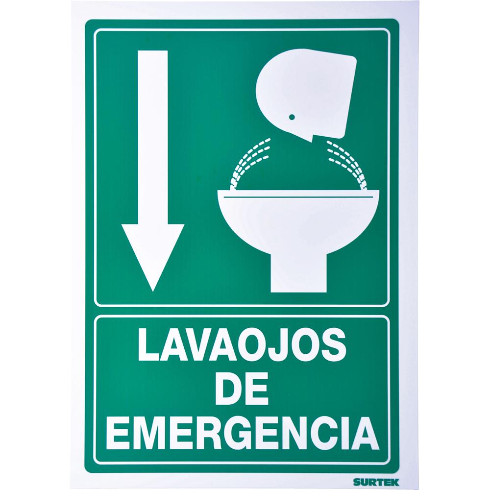 """Imagen para Señal """"Lava-ojos emergencia"""" de Grupo Urrea"""