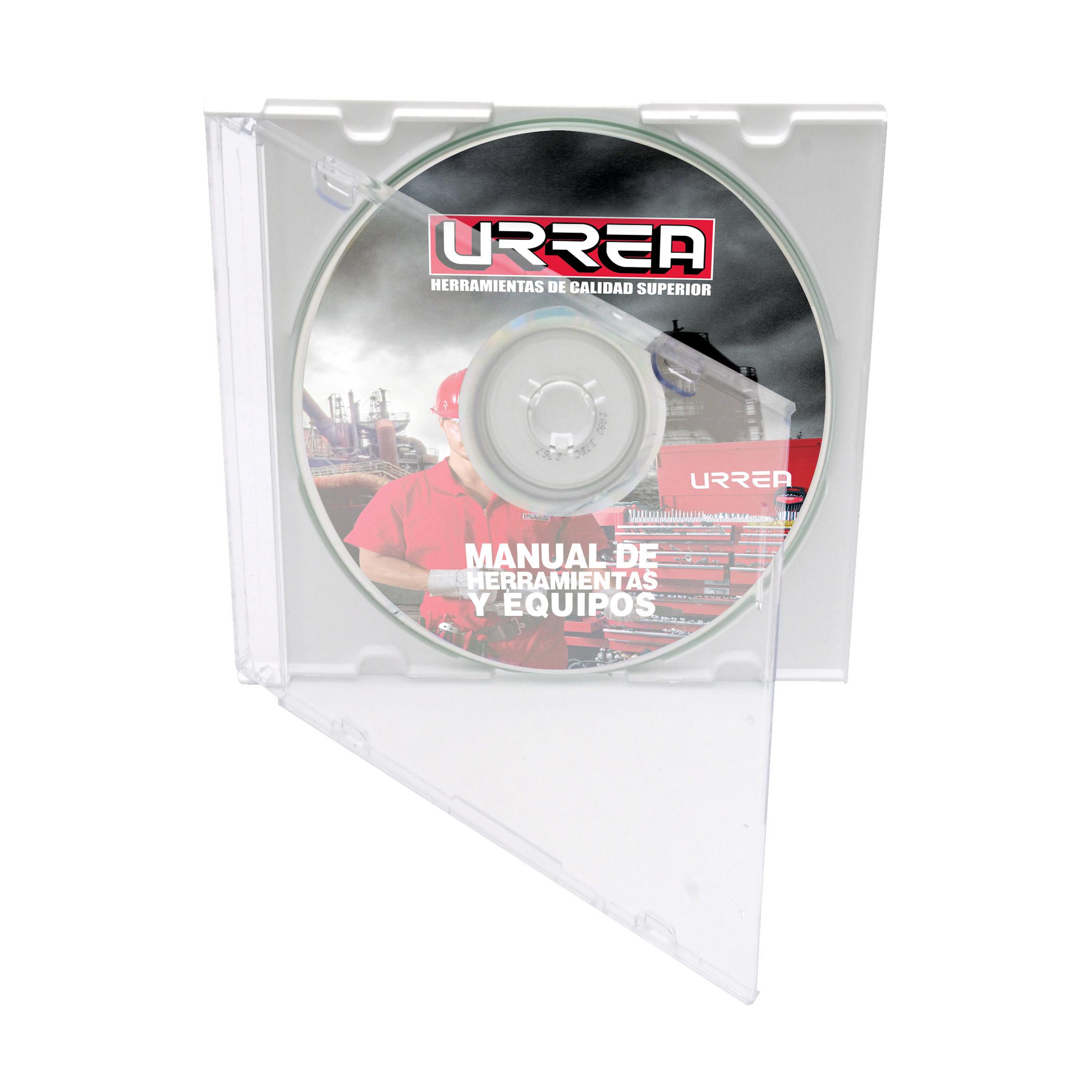 Imagen para Manual de herramientas Urrea 2010 (CD) de Grupo Urrea
