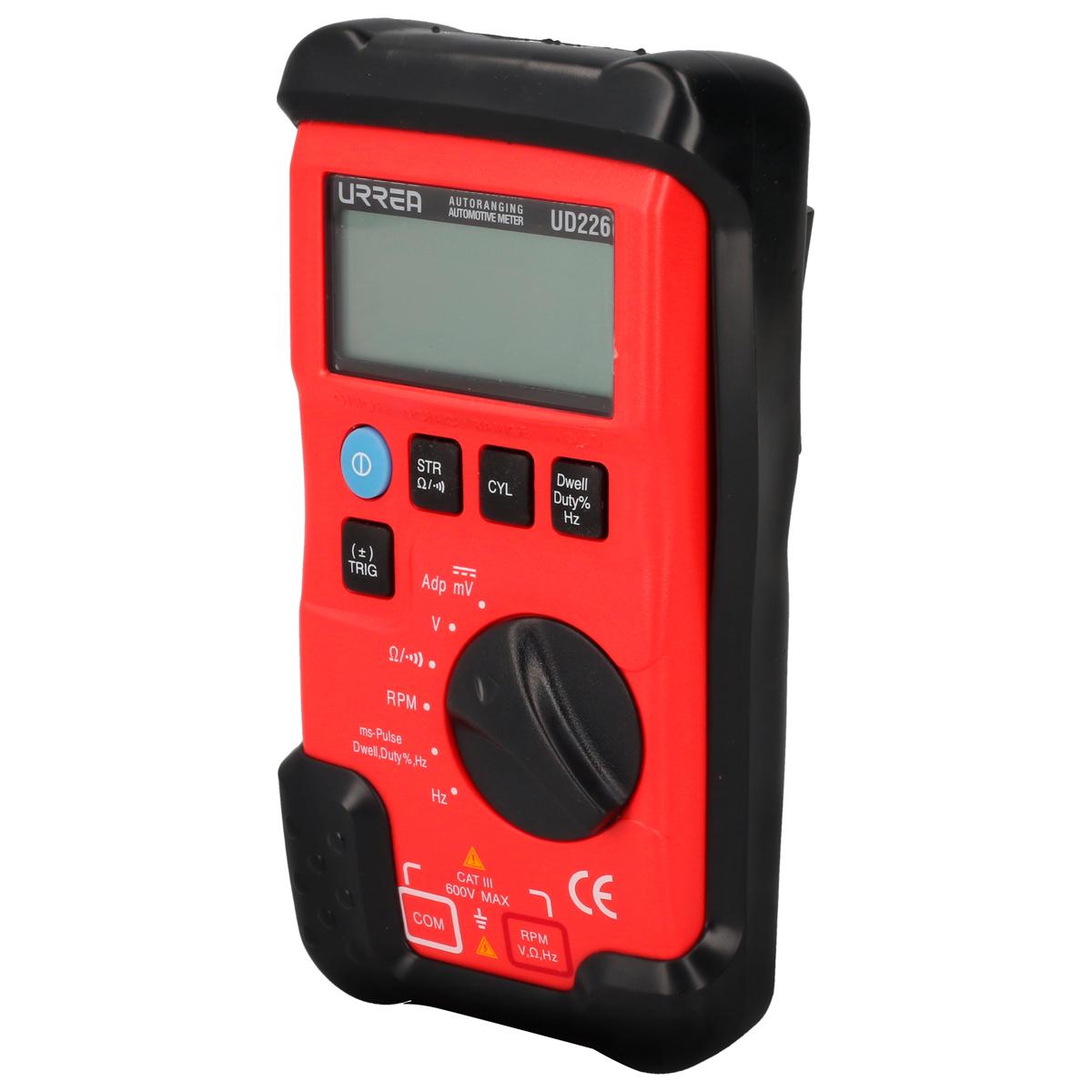 Imagen para Multímetro digital automotriz 600 VCD/600 VCA profesional de Grupo Urrea